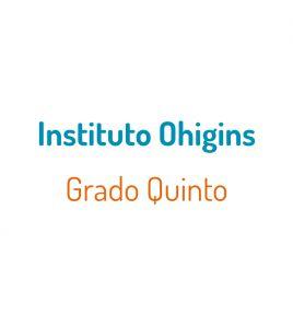 P. Instituto Ohigins Grado 5°