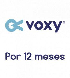Voxy por 12 meses