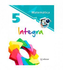 Matemática integra 5 libro...